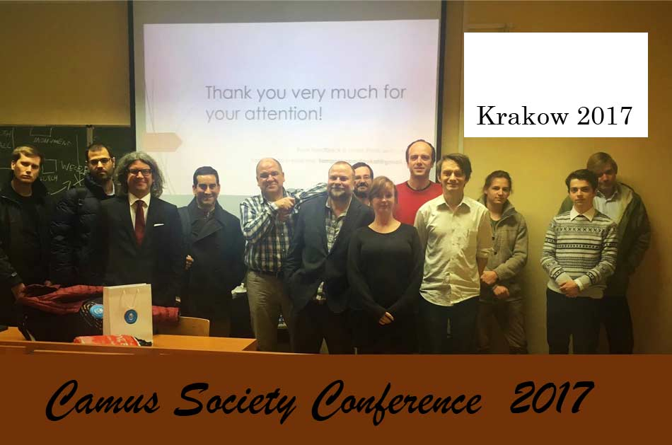 Camus Society Conference